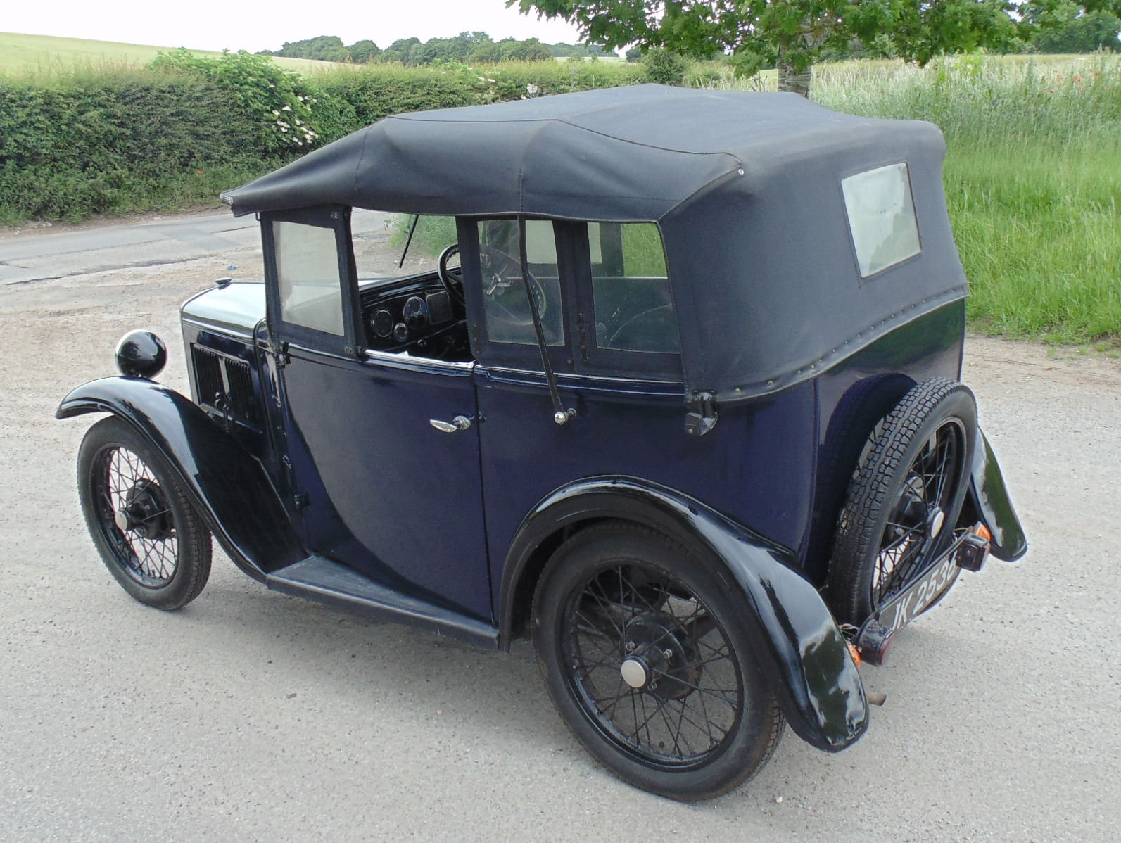 1932 Austin Seven Open Road Tourer SOLD (picture 3 of 6)