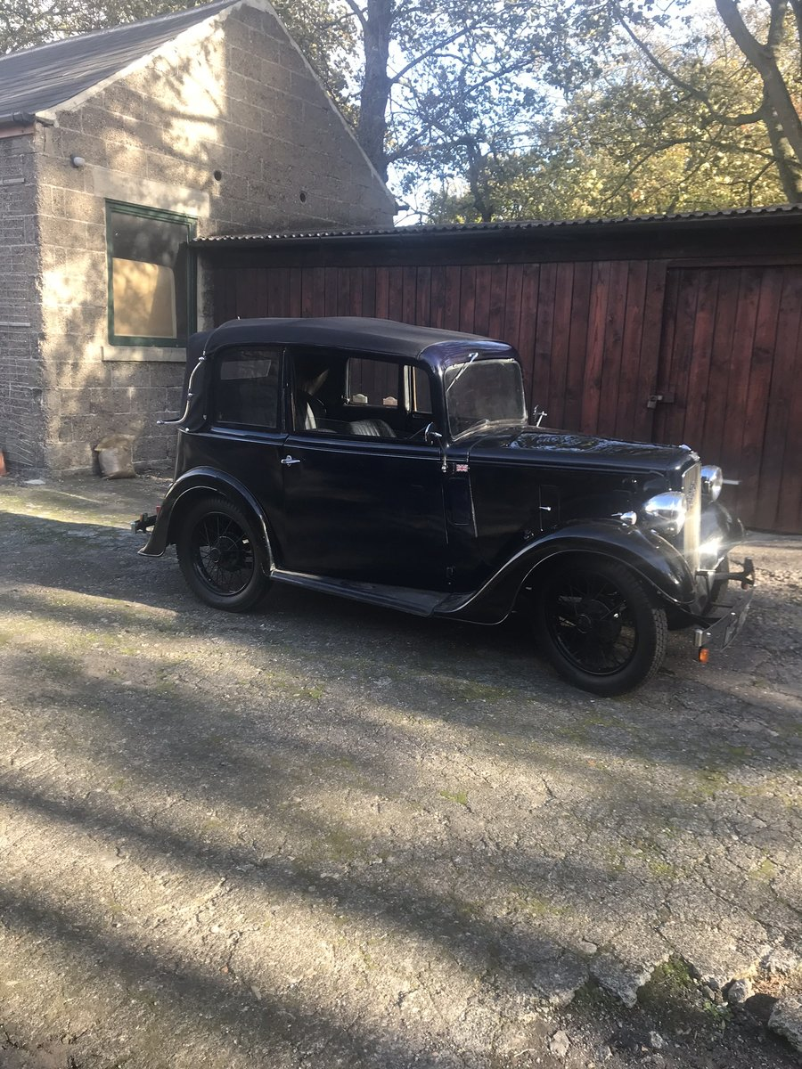 1936 Austin Seven Pearl Cabrolet For Sale (picture 1 of 6)