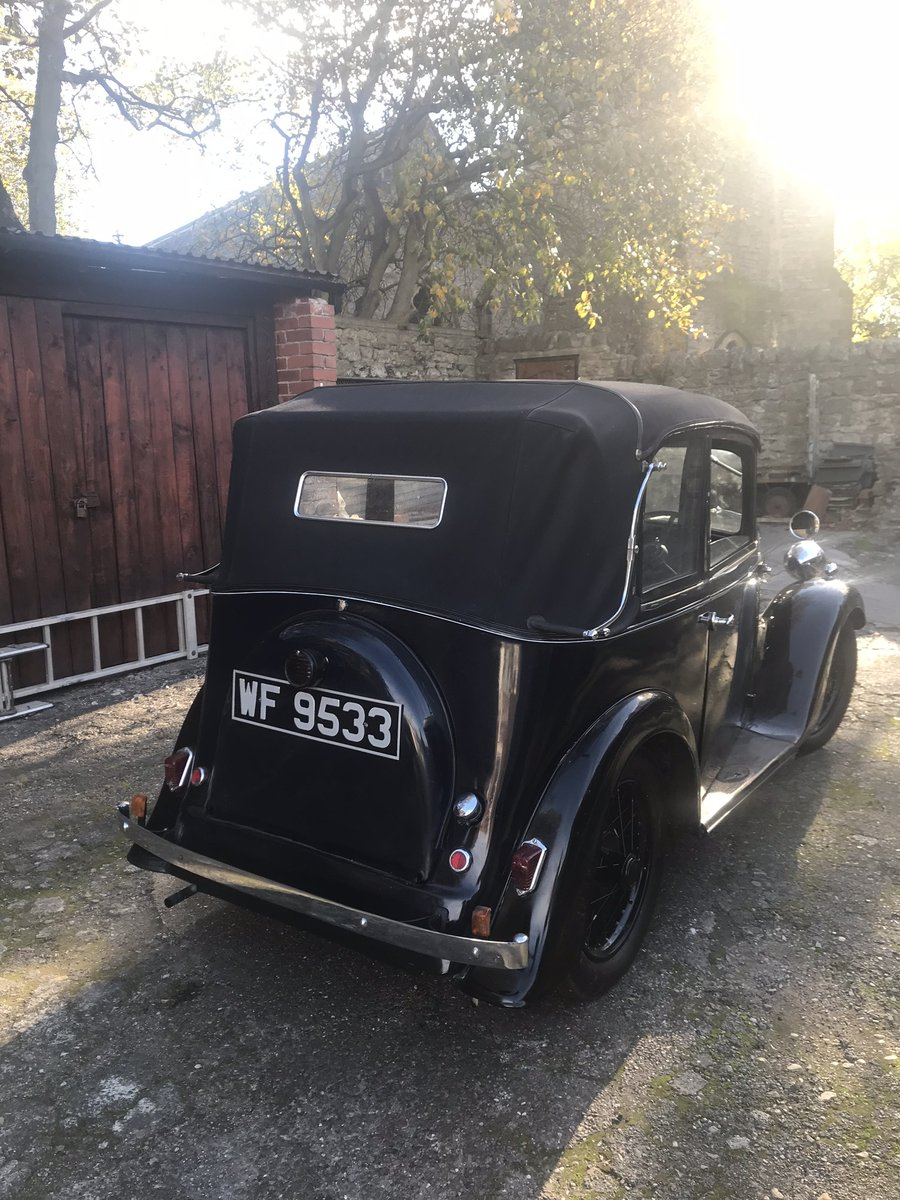 1936 Austin Seven Pearl Cabrolet For Sale (picture 2 of 6)
