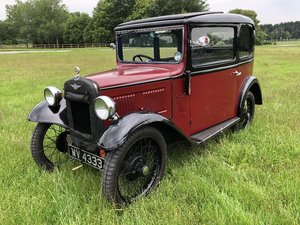 Lot 17 - A 1933 Austin 7 box saloon - 21/07/2019 For Sale by Auction