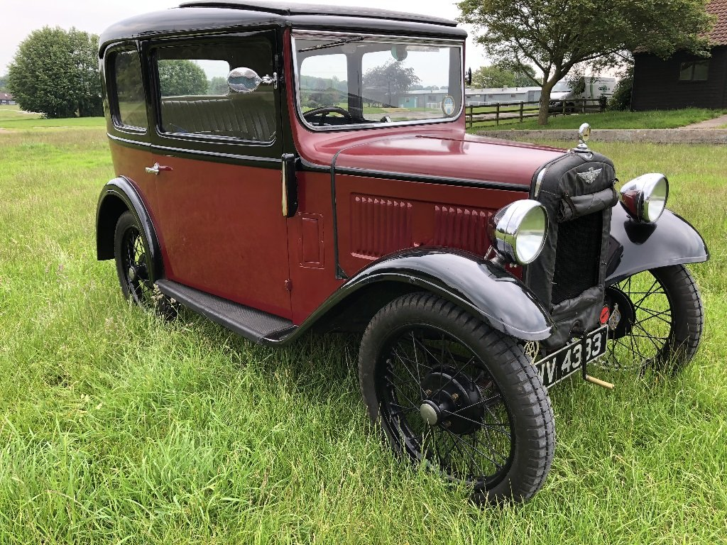 Lot 17 - A 1933 Austin 7 box saloon - 21/07/2019 For Sale by Auction (picture 2 of 6)
