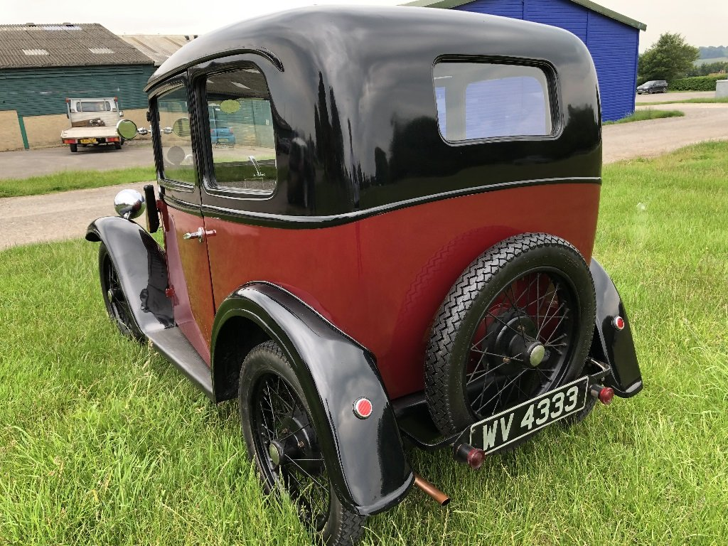 Lot 17 - A 1933 Austin 7 box saloon - 21/07/2019 For Sale by Auction (picture 6 of 6)