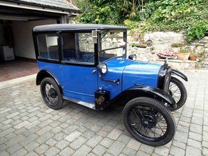 1927 AUSTIN SEVEN RTYPE TOP HAT SALOON SOLD