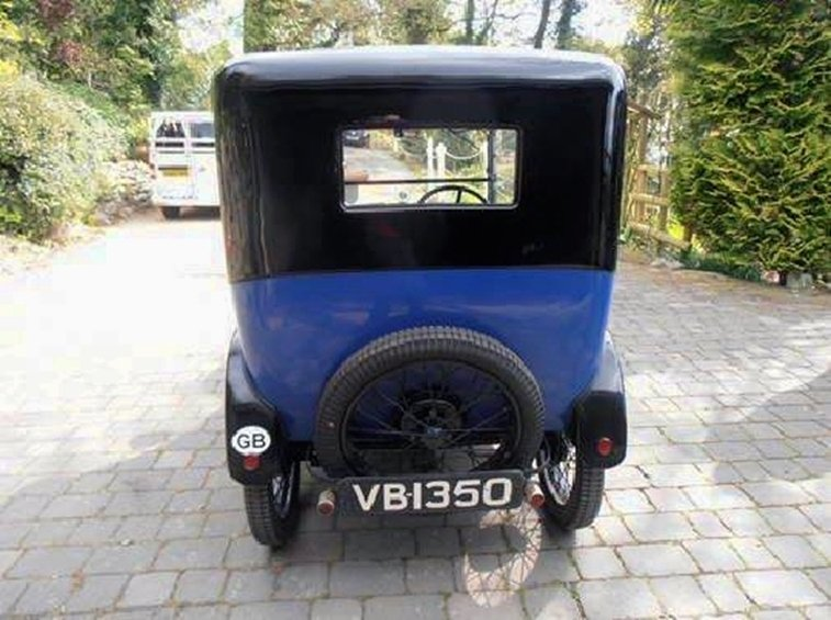 1927 AUSTIN SEVEN RTYPE TOP HAT SALOON SOLD (picture 2 of 6)