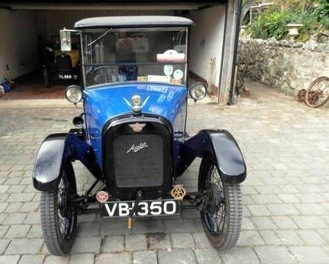 1927 AUSTIN SEVEN RTYPE TOP HAT SALOON SOLD (picture 3 of 6)
