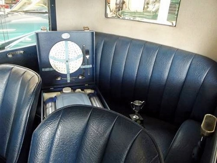 1927 AUSTIN SEVEN RTYPE TOP HAT SALOON SOLD (picture 5 of 6)