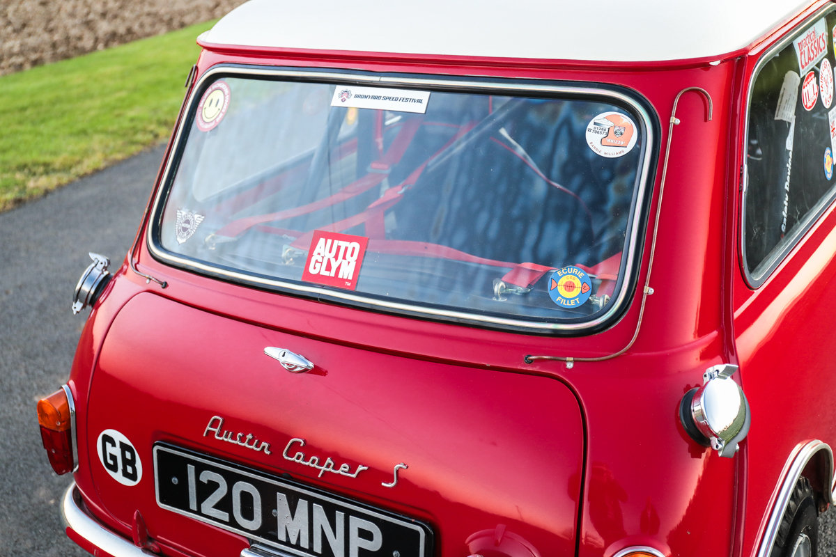 1963 Austin Mini Cooper S Whizzo Williams SOLD by Auction (picture 5 of 6)