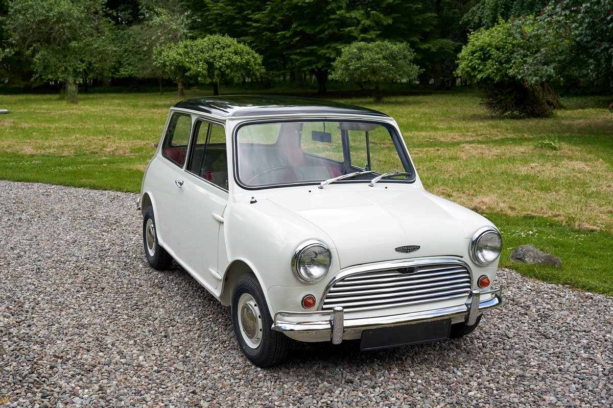1962 Austin Mini Cooper 997 SOLD by Auction (picture 1 of 2)