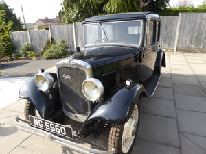 1933 Austin 10 Chrome Rad For Sale