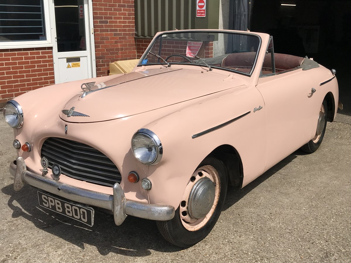 1952 Austin A40 Sports Convertible  For Sale (picture 1 of 5)