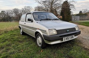 1985 Austin Metro - Barons Tuesday 16th July 2019 SOLD by Auction