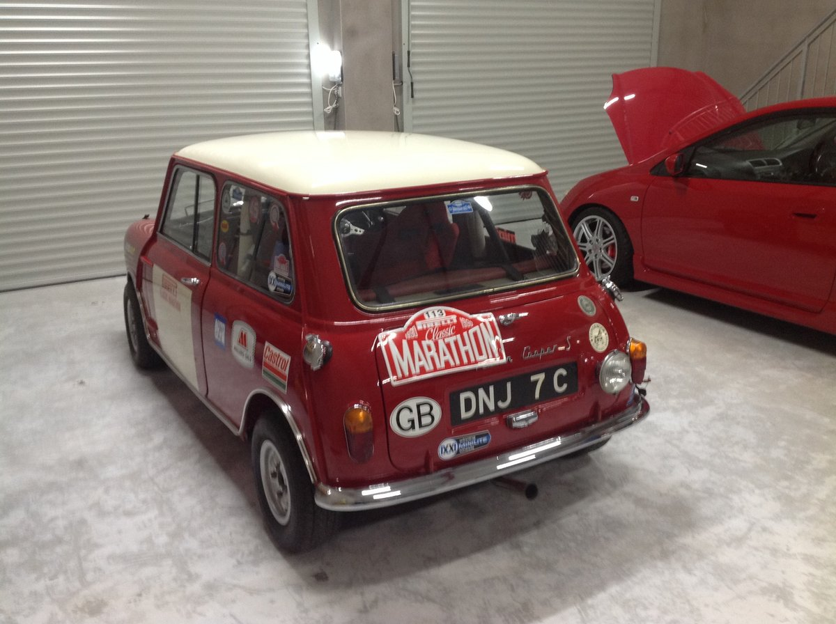 1965 Austin Cooper. S Rally Car For Sale (picture 1 of 6)