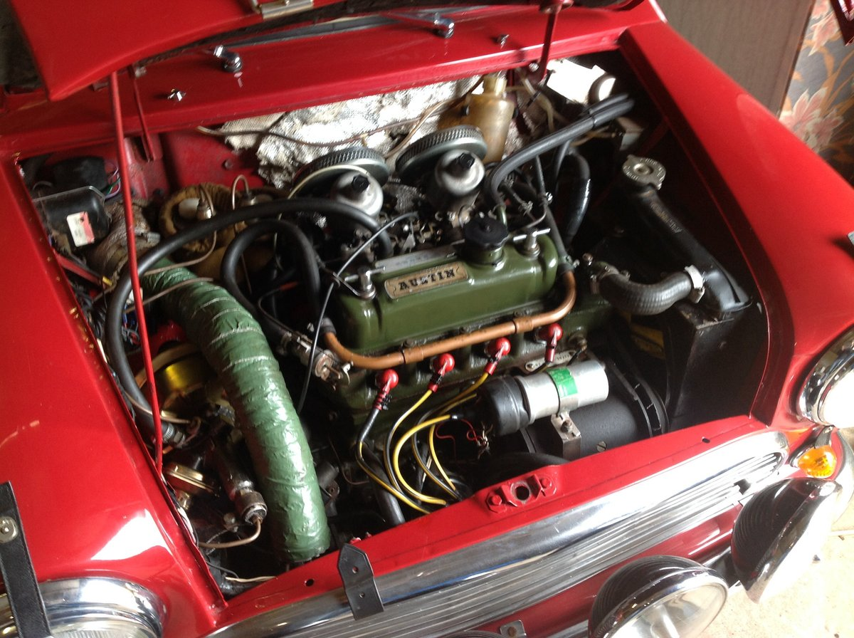 1965 Austin Cooper. S Rally Car For Sale (picture 4 of 6)
