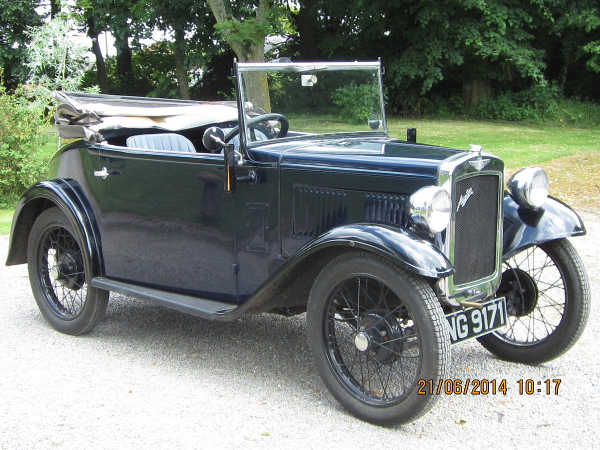1935 Austin Seven Opal Tourer  SOLD (picture 1 of 3)