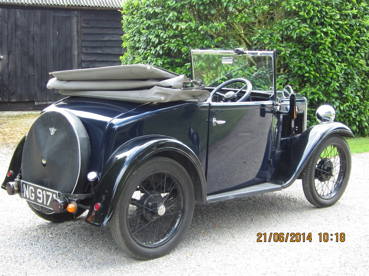 1935 Austin Seven Opal Tourer  SOLD (picture 2 of 3)