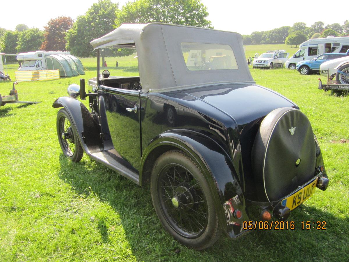 1935 Austin Seven Opal Tourer  SOLD (picture 3 of 3)