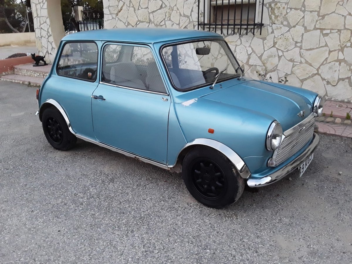 1983 LHD MINI 1000 CITY E UK REGISTERED.  For Sale (picture 1 of 6)