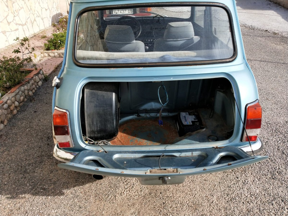 1983 LHD MINI 1000 CITY E UK REGISTERED.  For Sale (picture 6 of 6)