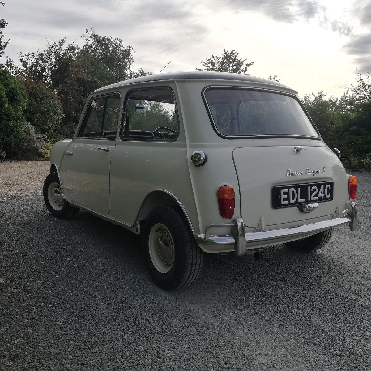 1965 MKI Mini Cooper S 1275 For Sale (picture 3 of 6)