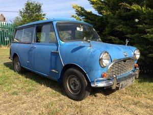 Lot 16 - A 1966 Austin Mini Countryman - 21/07/2019 For Sale by Auction