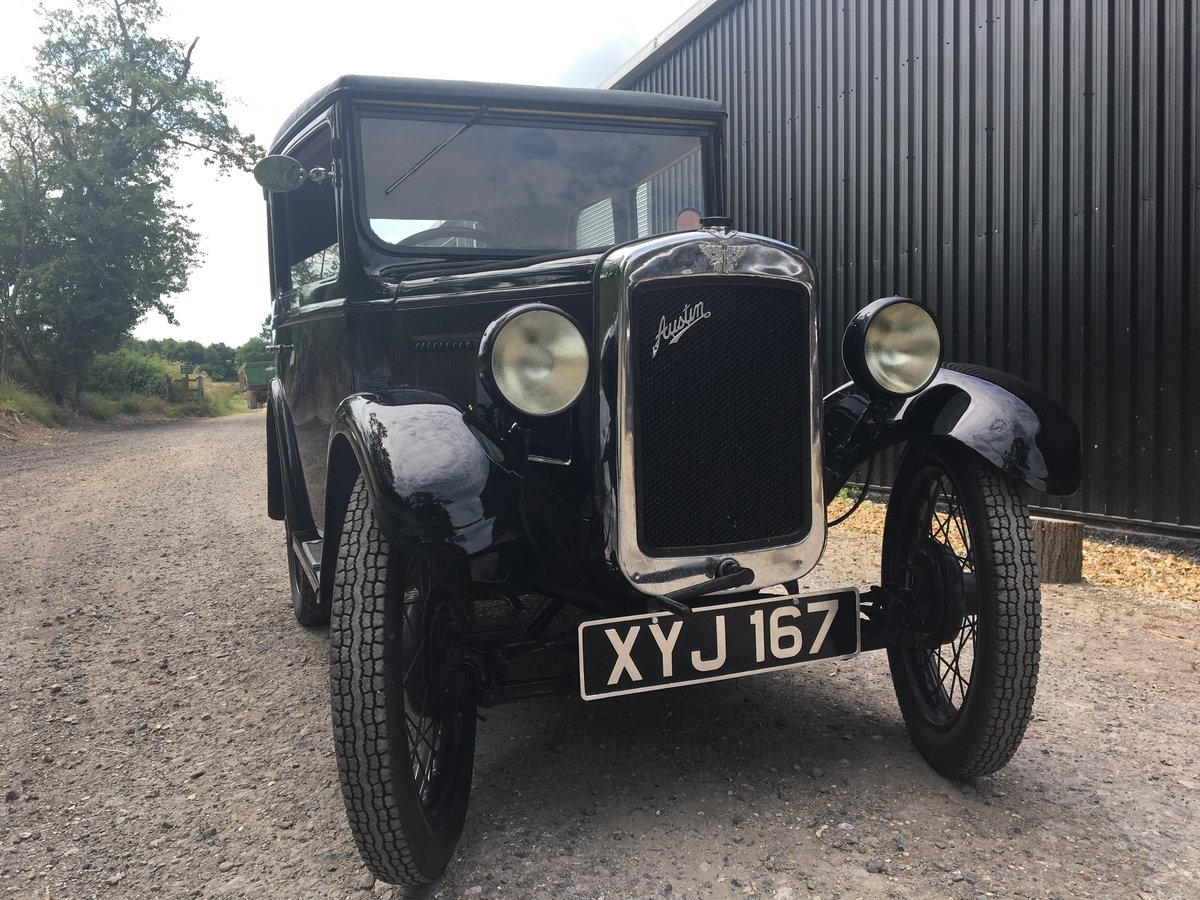 1931 Austin Seven 'RM' Saloon SOLD (picture 1 of 6)