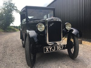 1931 Austin Seven 'RM' Saloon SOLD