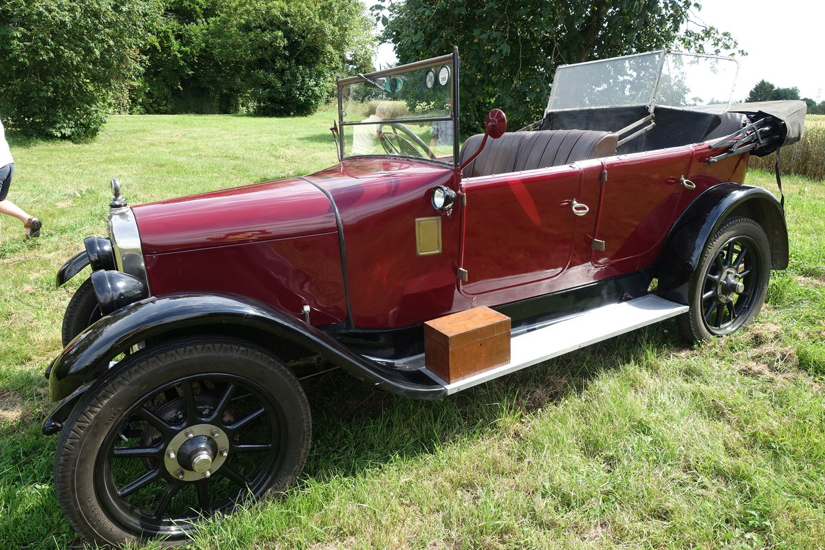Austin Heavy 12/4 Clifton with Auster screen. 1927 SOLD (picture 1 of 6)