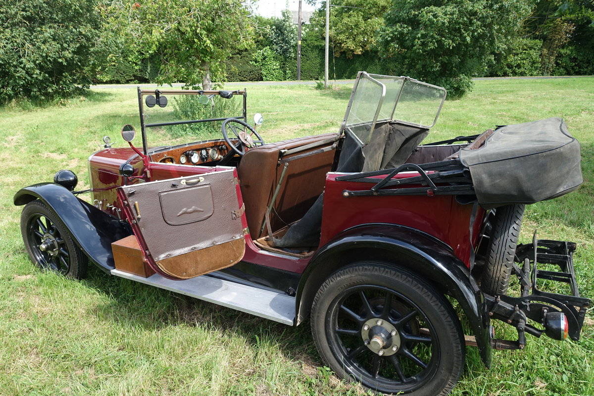 Austin Heavy 12/4 Clifton with Auster screen. 1927 SOLD (picture 2 of 6)