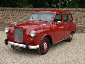 1986 Austin Carbodies FX4R London Taxi only 19.000 km, 1st owner! For Sale
