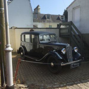 1936 Austin Ascot LOVES THE OPEN ROAD For Sale