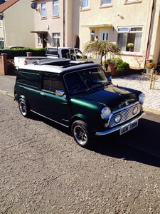 1980 Austin mini van. Fully restored