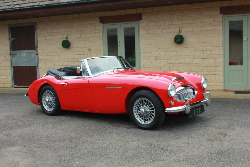 1962 AUSTIN HEALEY 3000 MK2 - £55,950 For Sale (picture 1 of 12)