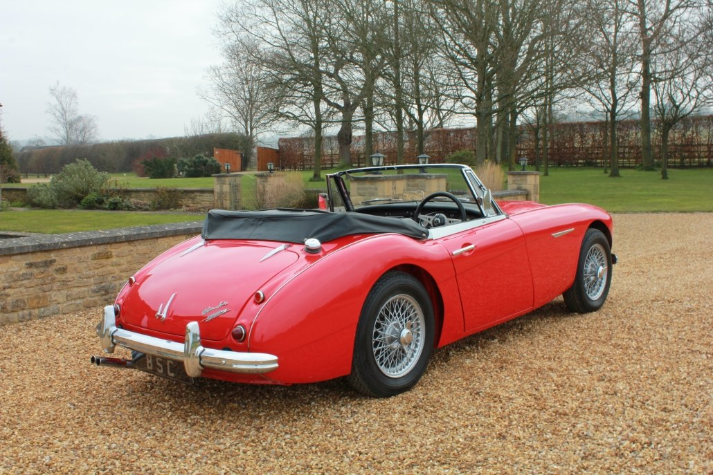 1962 AUSTIN HEALEY 3000 MK2 - £59,950 For Sale (picture 3 of 12)