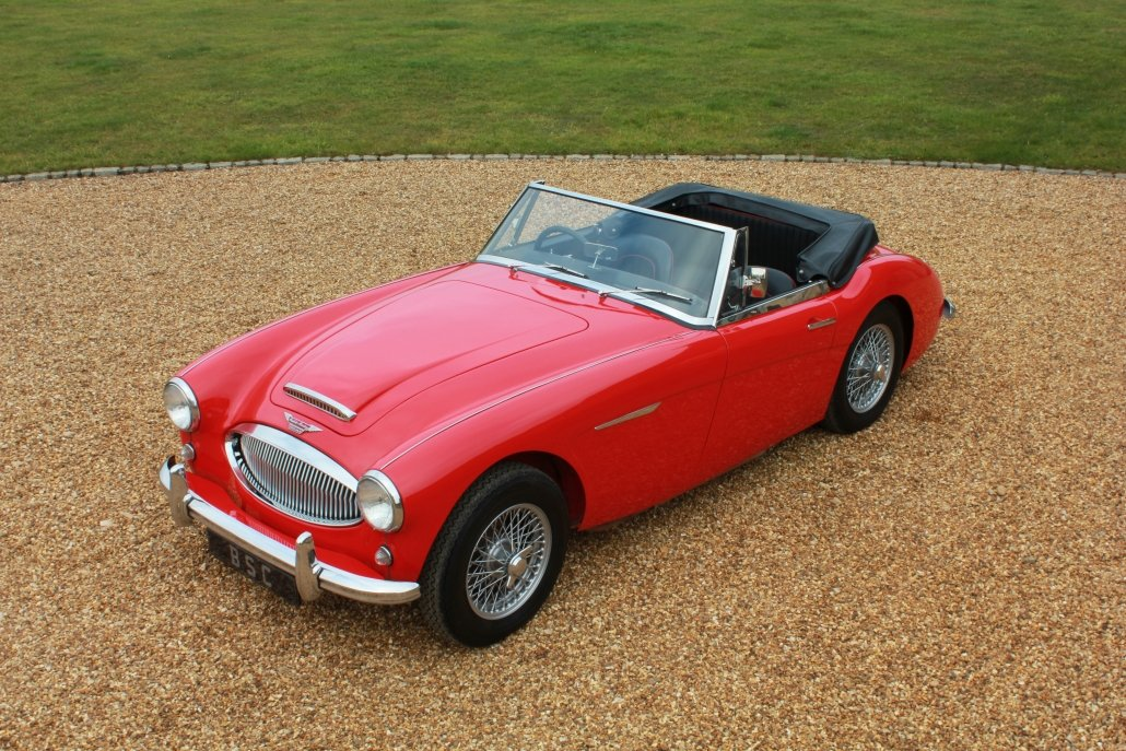 1962 AUSTIN HEALEY 3000 MK2 - £59,950 For Sale (picture 5 of 12)