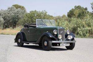 Austin 12/4 Eton Tourer 1937 For Sale