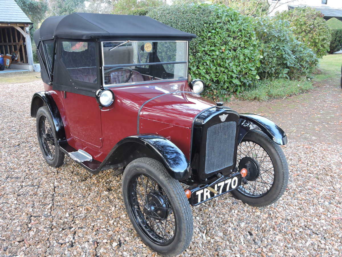 1926 Austin 7 AC Pram-Hood Chummy For Sale (picture 1 of 6)