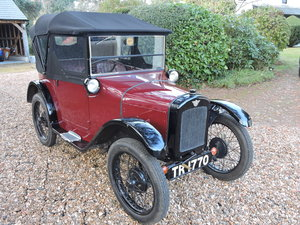 1926 Austin 7 AC Pram-Hood Chummy For Sale