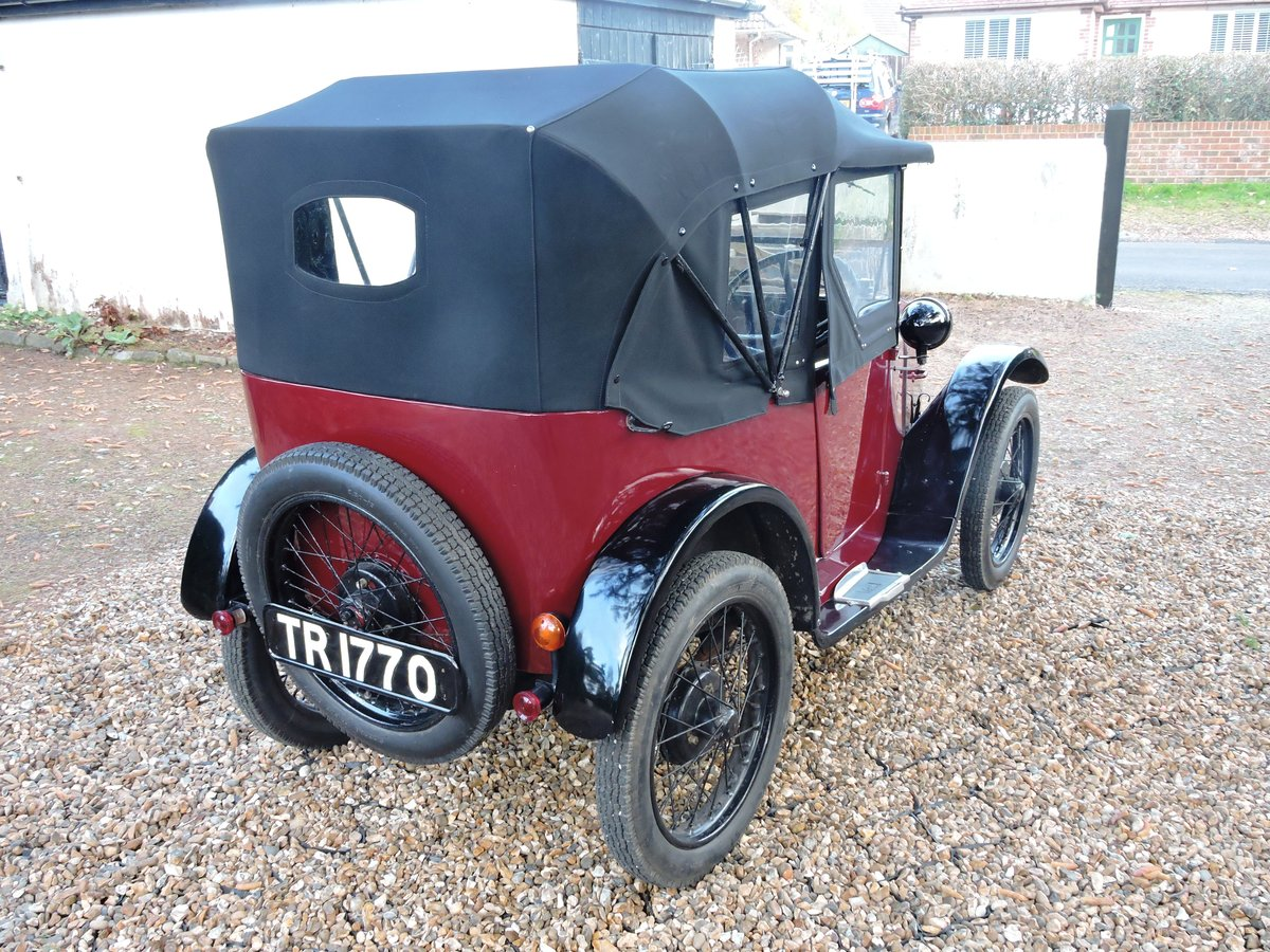 1926 Austin 7 AC Pram-Hood Chummy For Sale (picture 3 of 6)