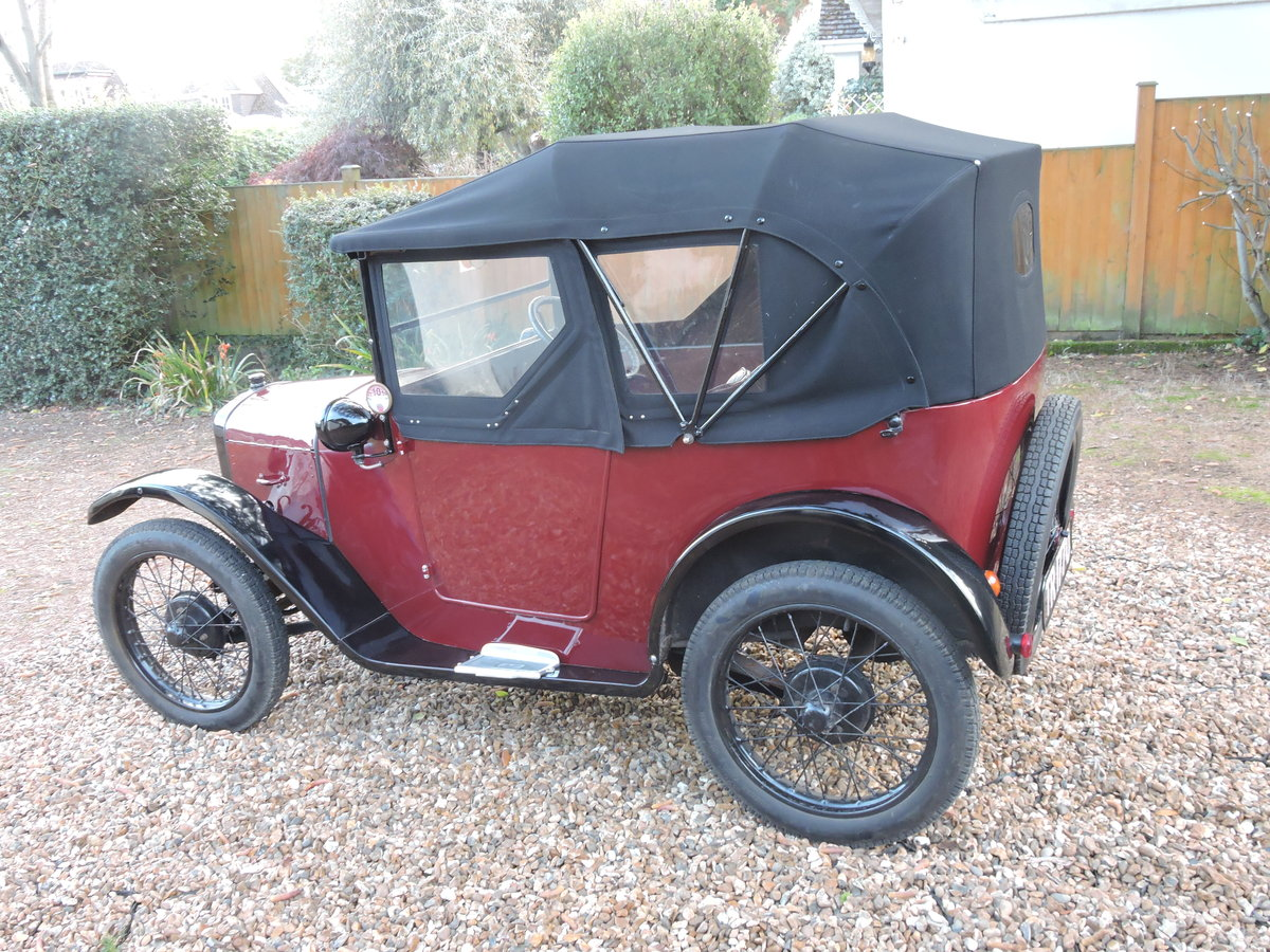 1926 Austin 7 AC Pram-Hood Chummy For Sale (picture 4 of 6)