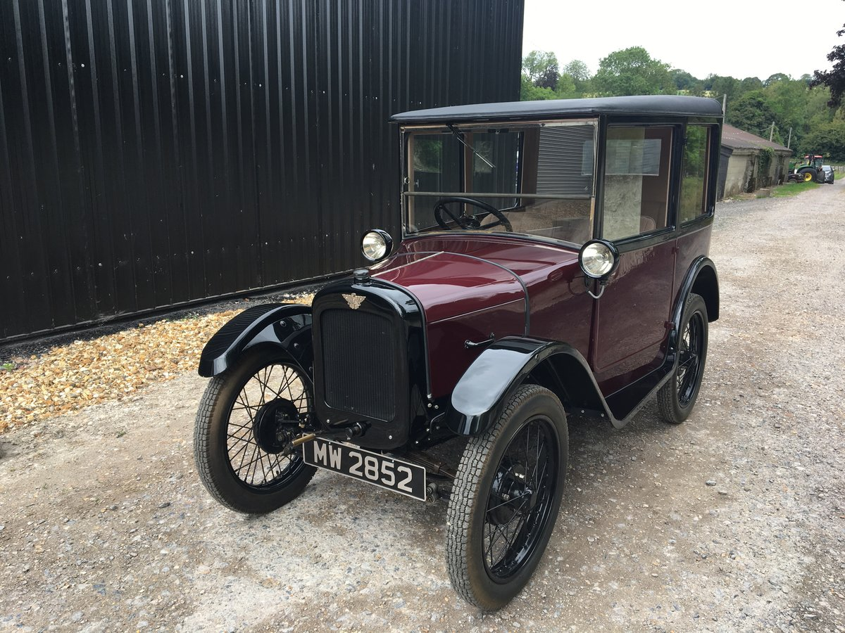 1928 Austin Seven 'R' Type 'Top Hat Saloon' - fully restored SOLD (picture 1 of 6)
