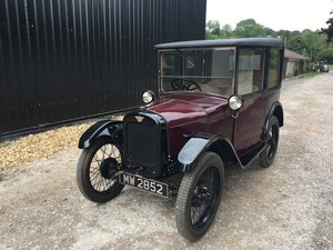 1928 Austin Seven 'R' Type 'Top Hat Saloon' - fully restored For Sale