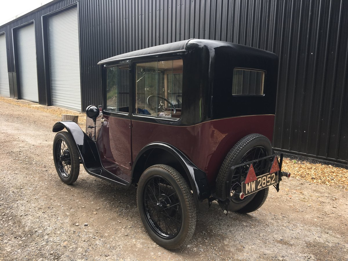 1928 Austin Seven 'R' Type 'Top Hat Saloon' - fully restored SOLD (picture 2 of 6)