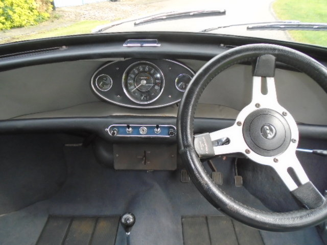 1967 Austin Mini Cooper Mk1, 1293cc built engine.  For Sale (picture 6 of 6)
