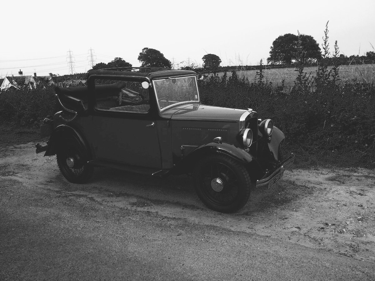 1934 Drop Head Austin For Sale (picture 5 of 5)