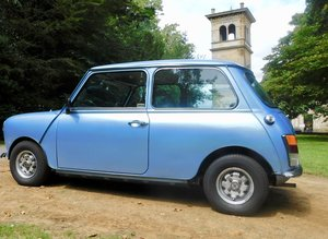 Rare Loved Austin Mini HL Blue 1981 LOW MILEAGE!