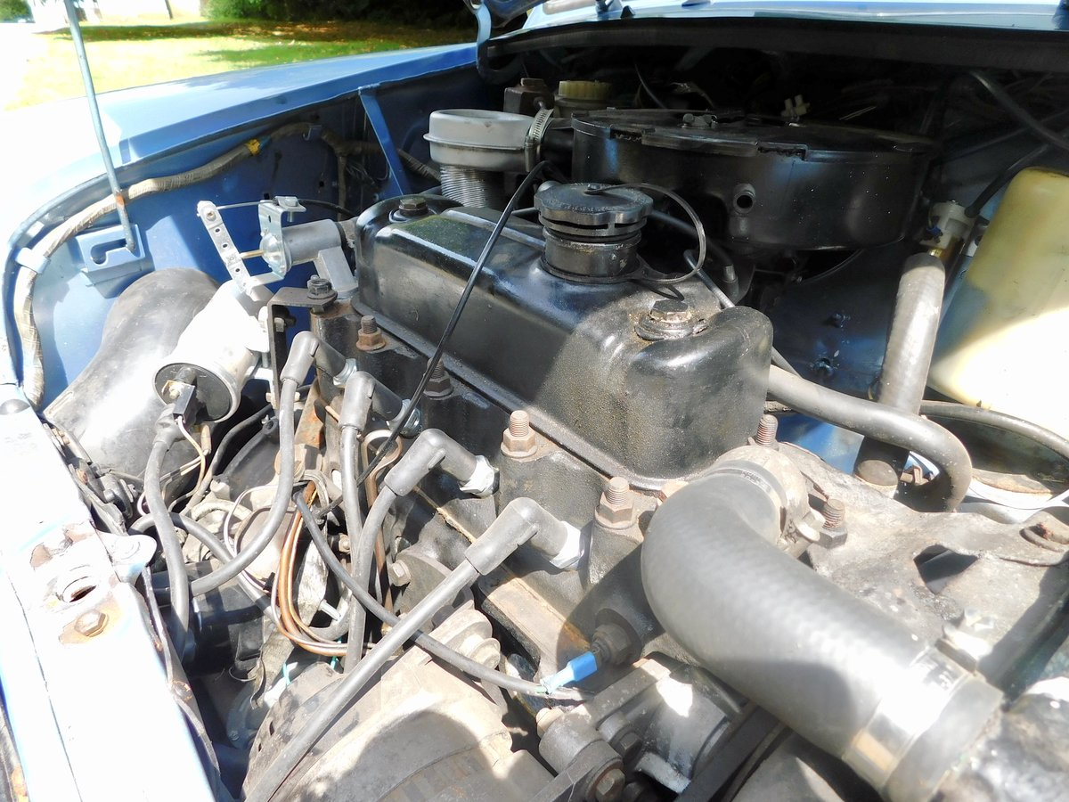 Rare Loved Austin Mini HL Blue 1981 LOW MILEAGE! For Sale (picture 5 of 6)