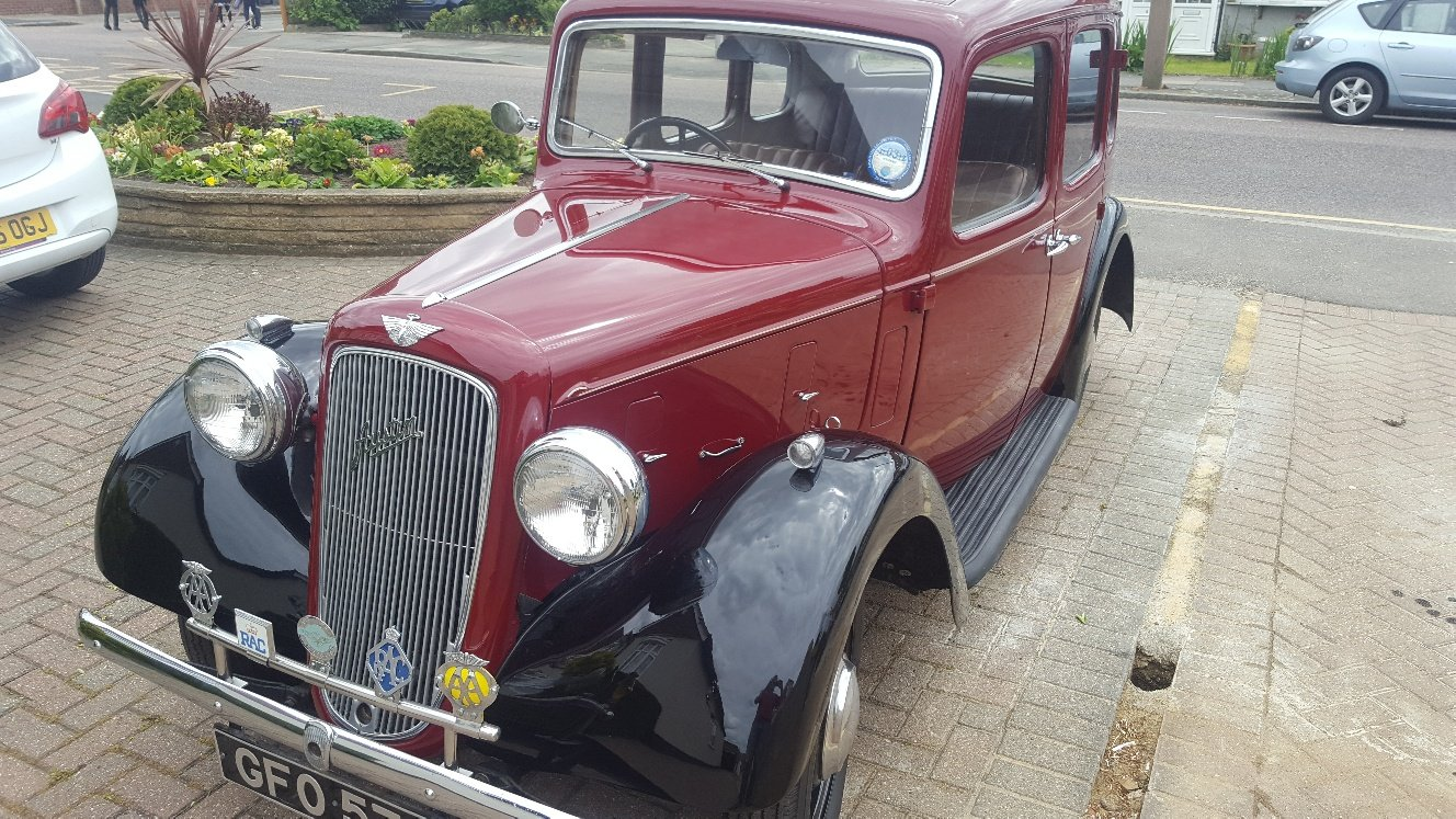 1937 Great Austin Cambridge with some spares SOLD (picture 1 of 6)