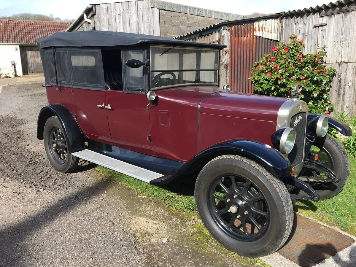 1928 Austin Heavy 12/4 Clifton Tourer For Sale (picture 1 of 6)