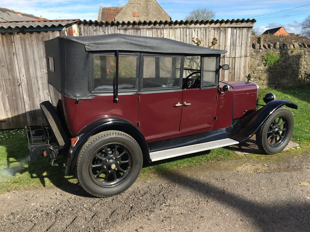 1928 Austin Heavy 12/4 Clifton Tourer For Sale (picture 2 of 6)