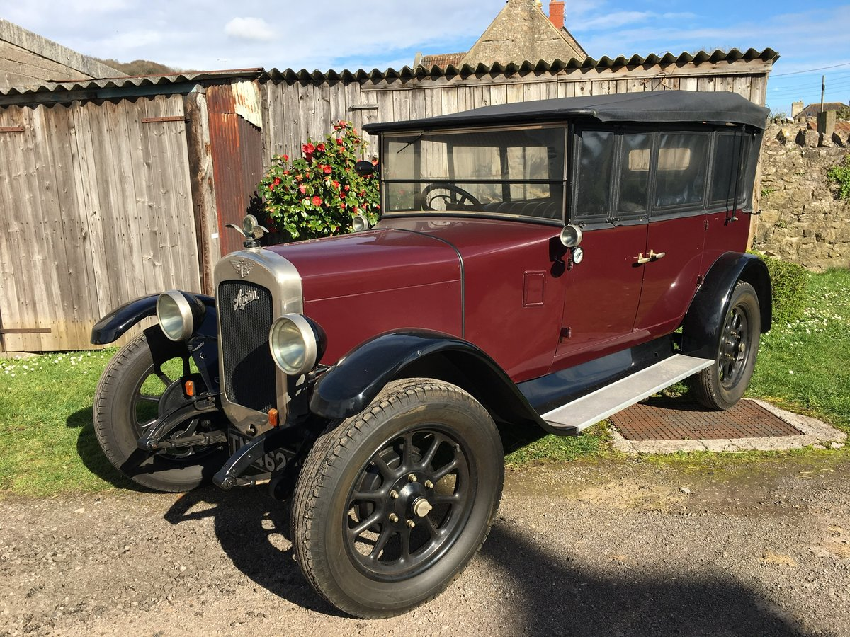 1928 Austin Heavy 12/4 Clifton Tourer For Sale (picture 5 of 6)